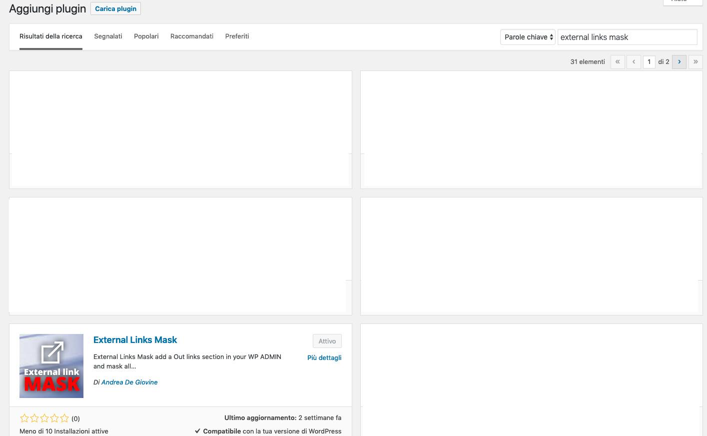 Mascherare links affiliazione WordPress